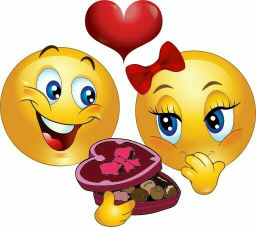 Happy Valentine\'s Smiley.