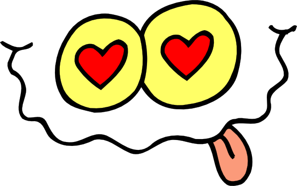 Valentine Laughing Face Clip Art at Clker.com.