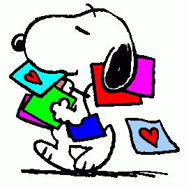 Snoopy Clipart Valentine.