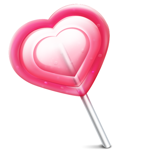 Heart Lollipop Clipart.
