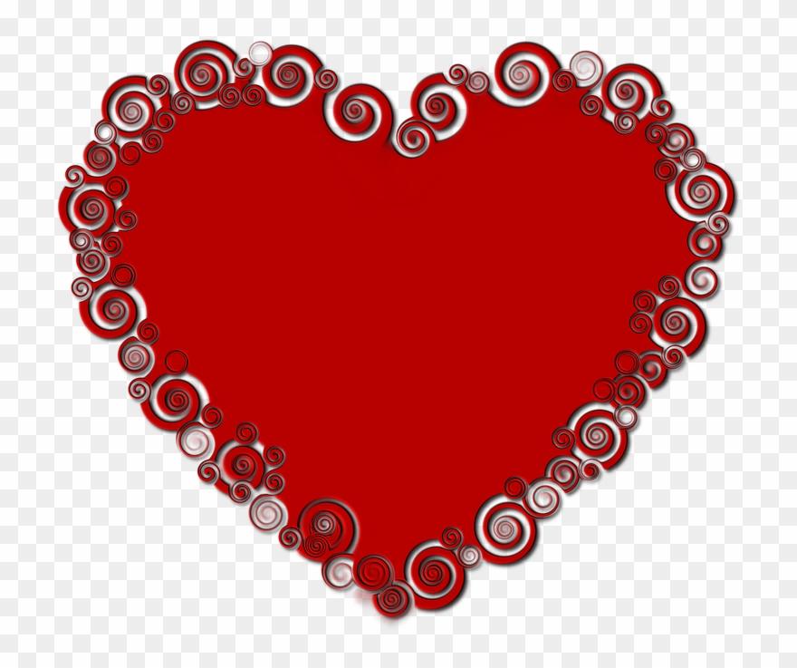 Heart, Valentine\\\'s Day, Red.