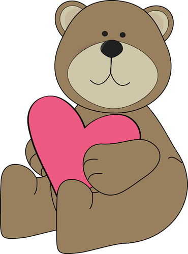 Valentine\'s Day bear..