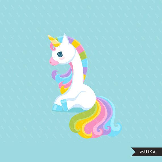 Unicorn Clipart. Valentine\'s day unicorn graphics, valentine.