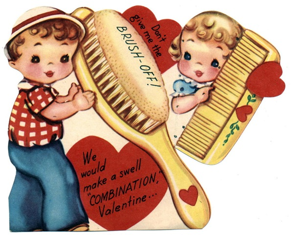 Free Vintage Kids Valentine Cards.