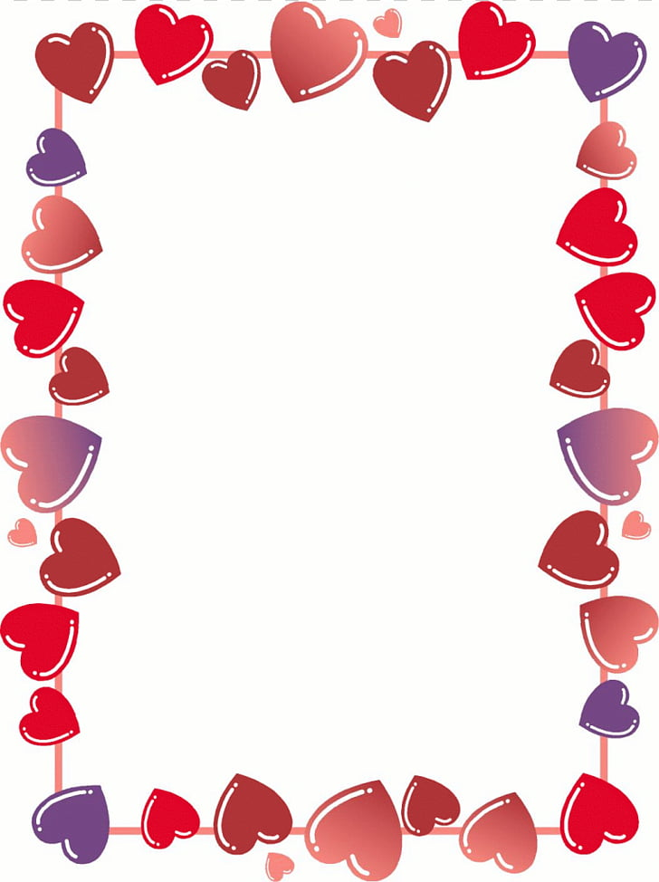 text border clipart valentines day #7