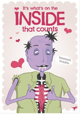 The Best Zombie Valentine's Day Cards.
