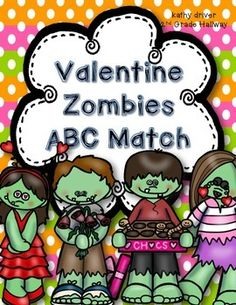 This cute and fun Valentine's Day zombie themed writing freebie.