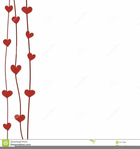 Valentine Border Clipart.