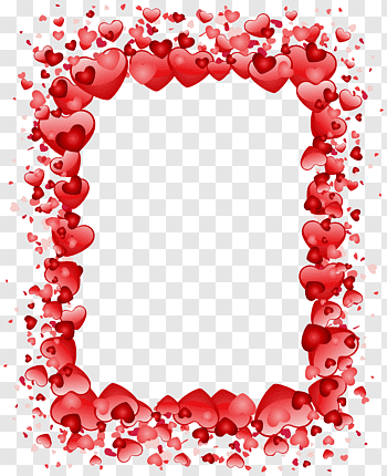 Valentines Day cutout PNG & clipart images.
