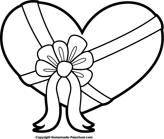 Valentine Clip Art Black And White & Valentine Clip Art Black And.