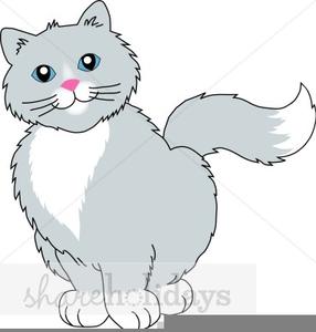 Free Cat Valentine Clipart.