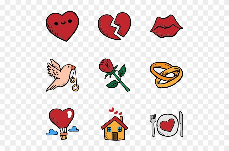 Valentines Day Set.