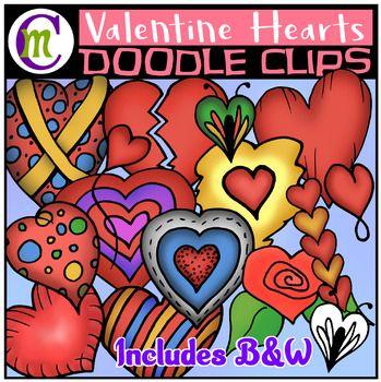 Valentines Day Clip Art FREEBIE.