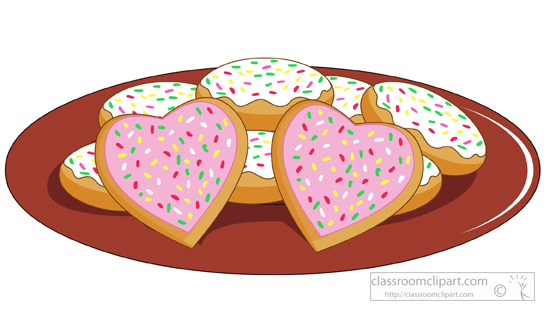 Baked goods clipart valentines, Baked goods valentines.