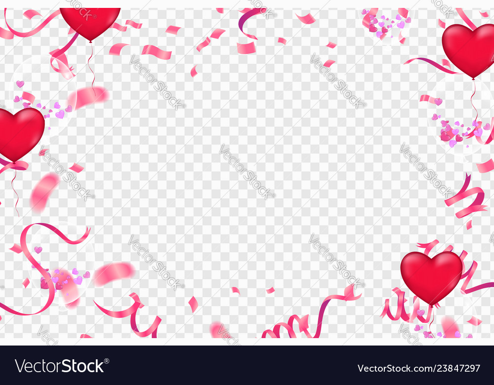 Valentines day banner template background.