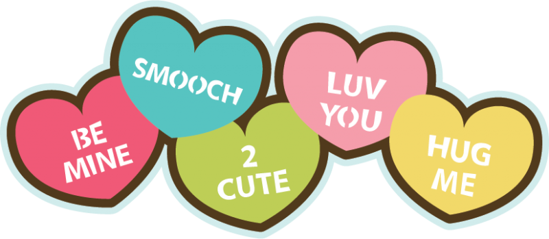 Valentines day candy clipart 3 » Clipart Station.