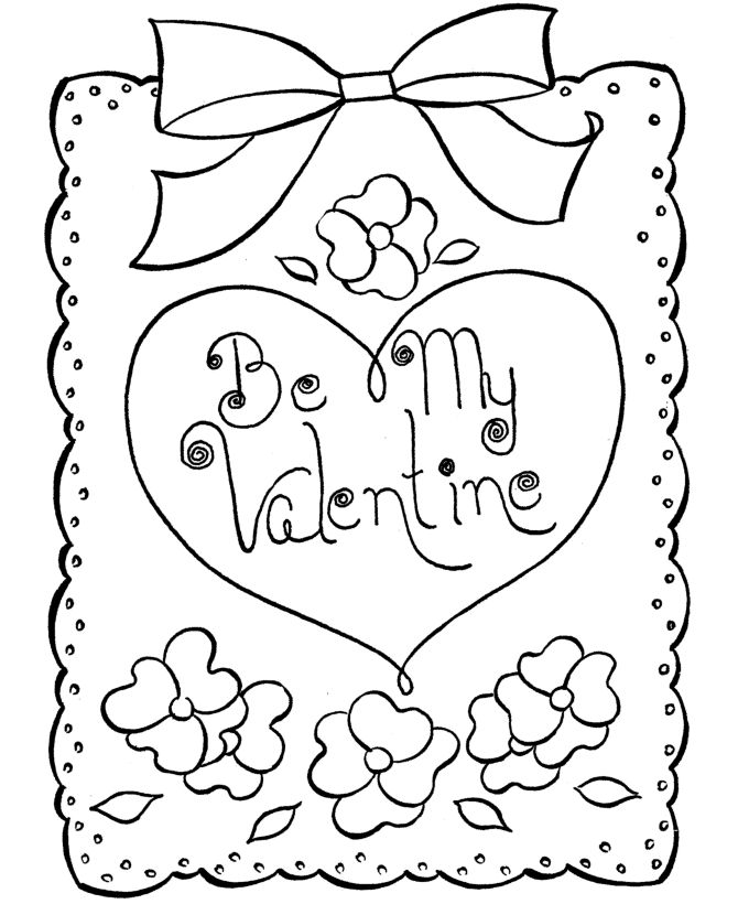 Free Printable Valentines Day Coloring Pages For Adults at.
