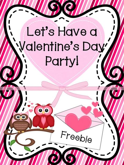 Valentine\'s Day Party and Card Exchange Letter to Parents.
