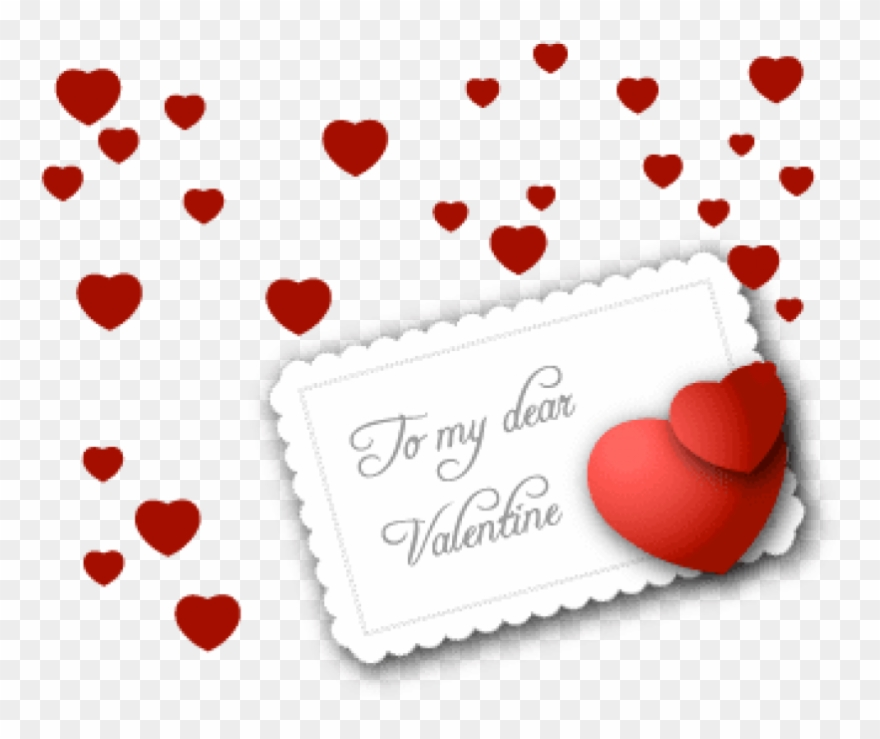 Free Png Download Small Valentine Card Png Images Background.