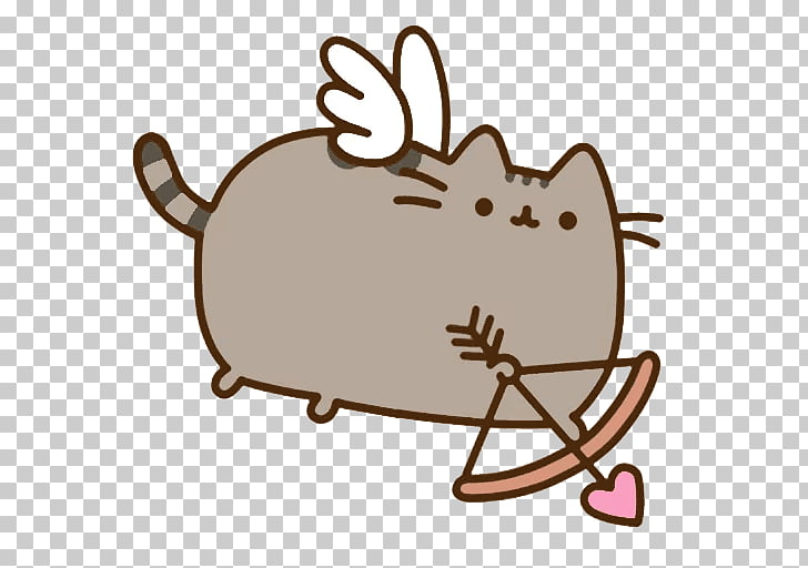 Pusheen Valentine\'s Day Cat Greeting & Note Cards Heart.