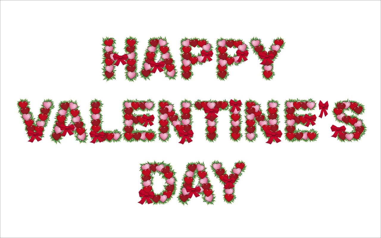 Happy Valentines Day Banner Clipart.