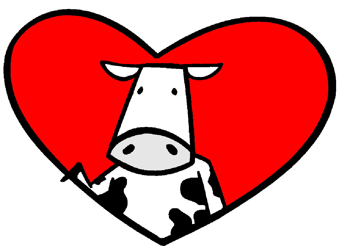 Clipart cow heart, Clipart cow heart Transparent FREE for.