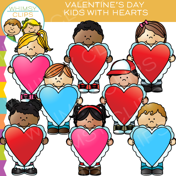 Valentines Day Friends Clipart.