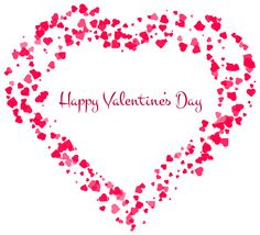 Valentines Day Decor with Hearts and Cupid Clipart ….