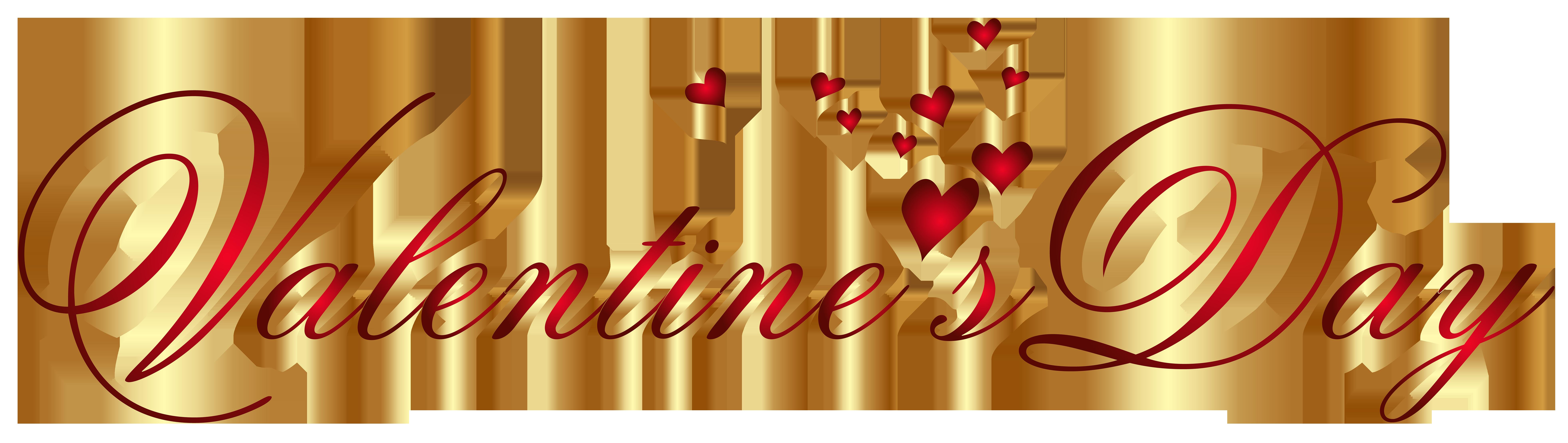 Valentine's Day Transparent PNG Clip Art Image.