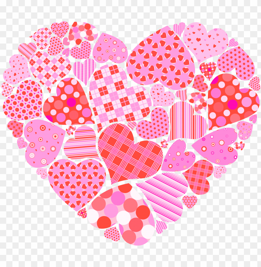 clip art freeuse valentines day of hearts png picture.