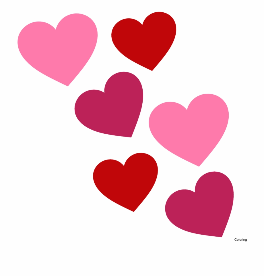 Hearts Clipart Banner.