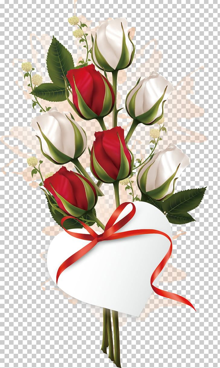 Rose Valentines Day Flower Bouquet PNG, Clipart, Artificial.