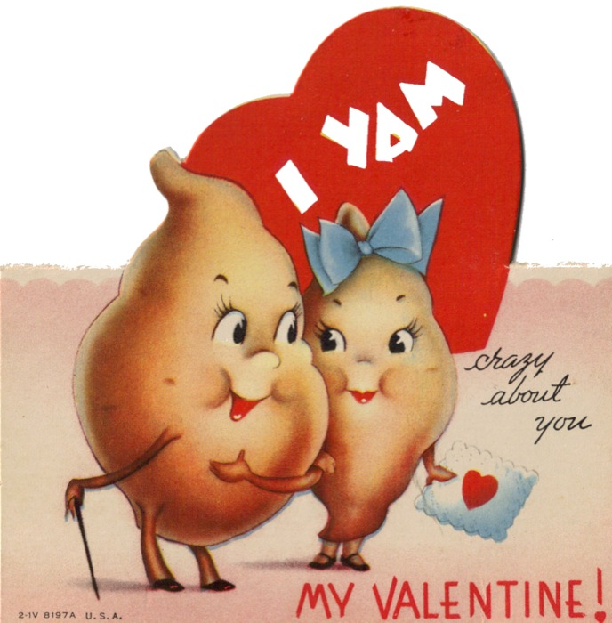 Vintage Valentines Day Cards.
