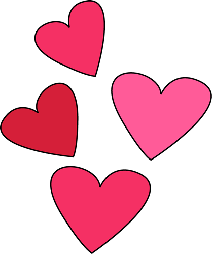Valentines Day Hearts Clipart Transparent 20 Free Cliparts