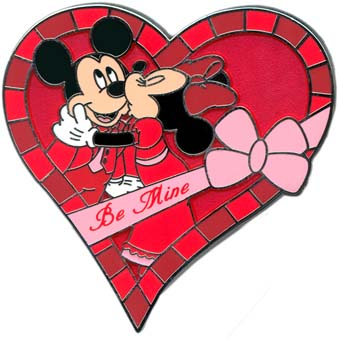 Minnie Mouse Valentines Day Clipart.