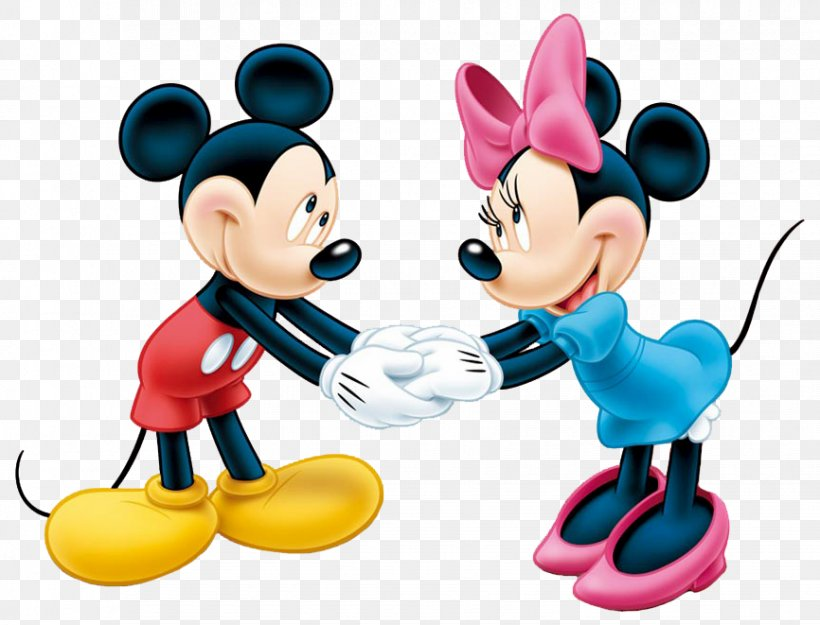 Mickey Mouse Minnie Mouse The Walt Disney Company Clip Art.