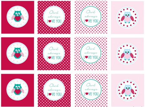 FREE Valentine's Day Party Printables from Mirabelle Creations.