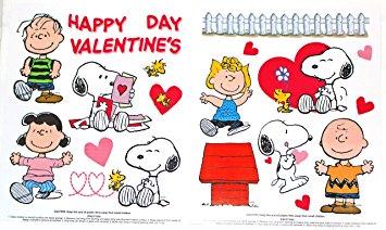 Amazon.com : Happy Valentine's Day Peanuts Characters Charlie.