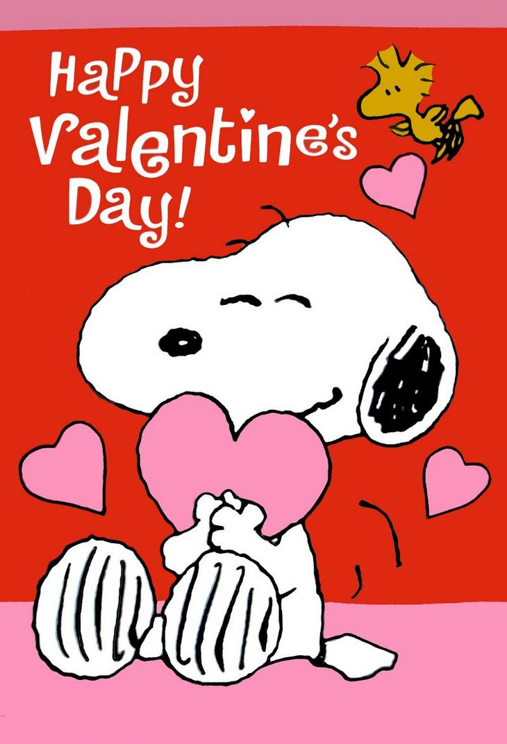 Valentines Day Peanuts Clipart.