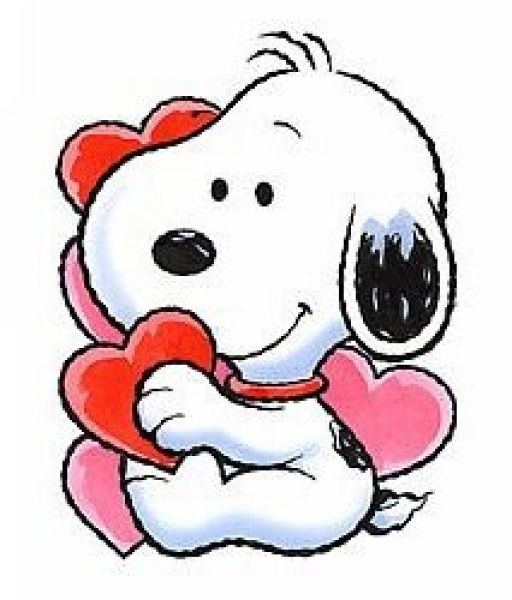 Valentines Day Clipart Snoopy.