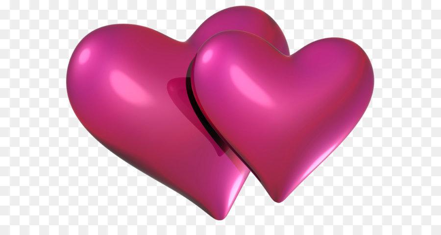 Heart Pink Clip art.