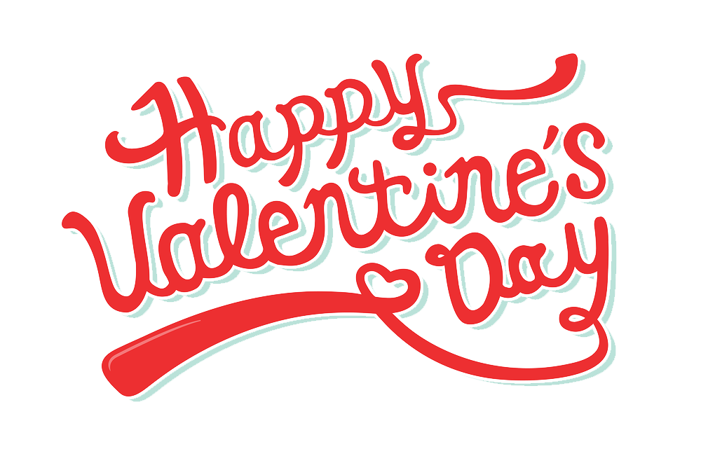 Happy Valentine\'s Day PNG Transparent Images.