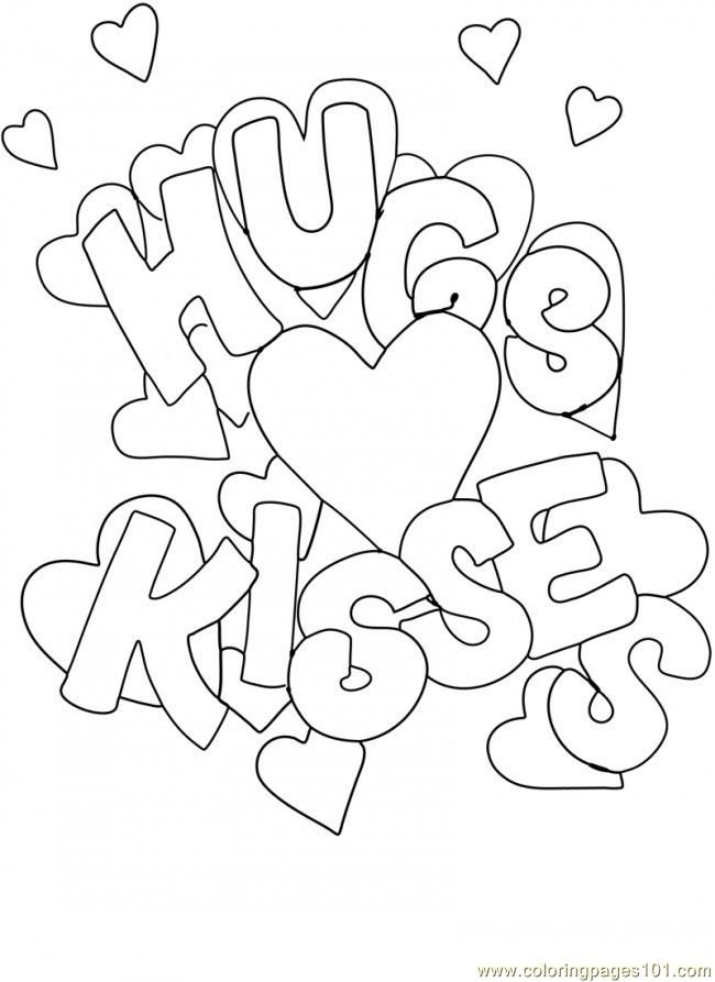 Precious Moments Valentine Coloring Pages.