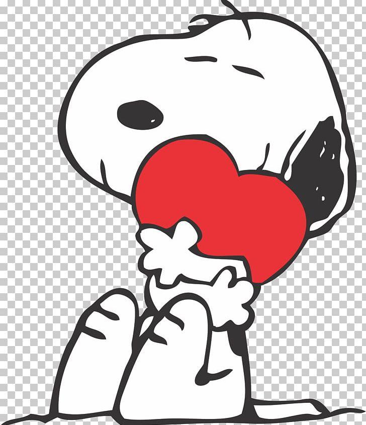 Snoopy Charlie Brown Woodstock Valentine\'s Day Peanuts PNG.