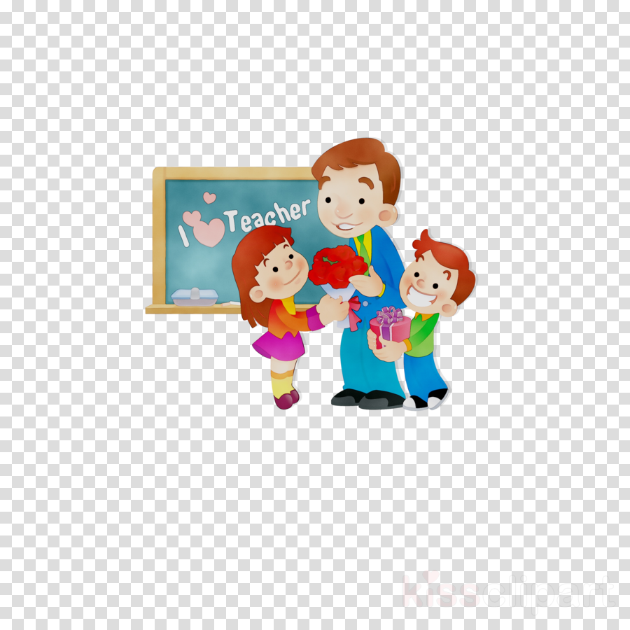 Teachers Day Background clipart.