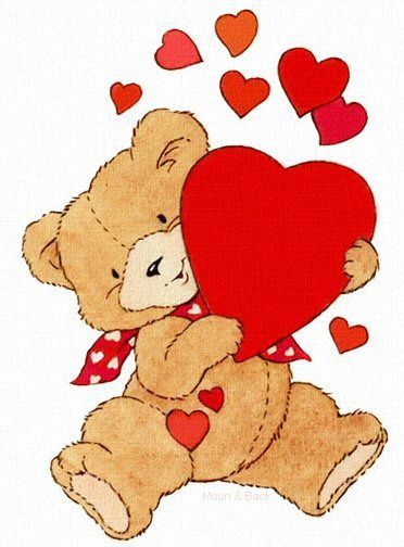 Valentines day teddy bear clipart 4 » Clipart Portal.