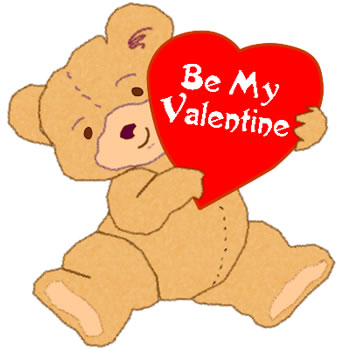 Valentines Day Clip Art: Teddy Bear Clipart Pictures.