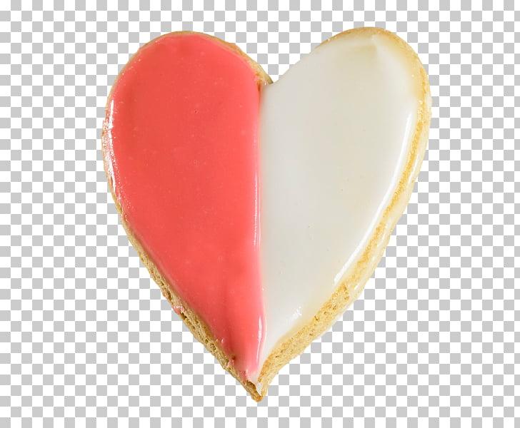 Valentine\'s Day Biscuits Bakery Heart Linzer torte, Pink.