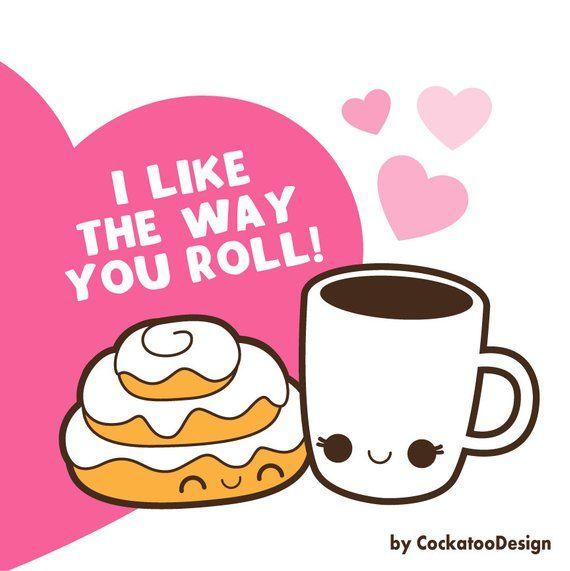 Valentine clipart kawaii food clipart kawaii valentines day.