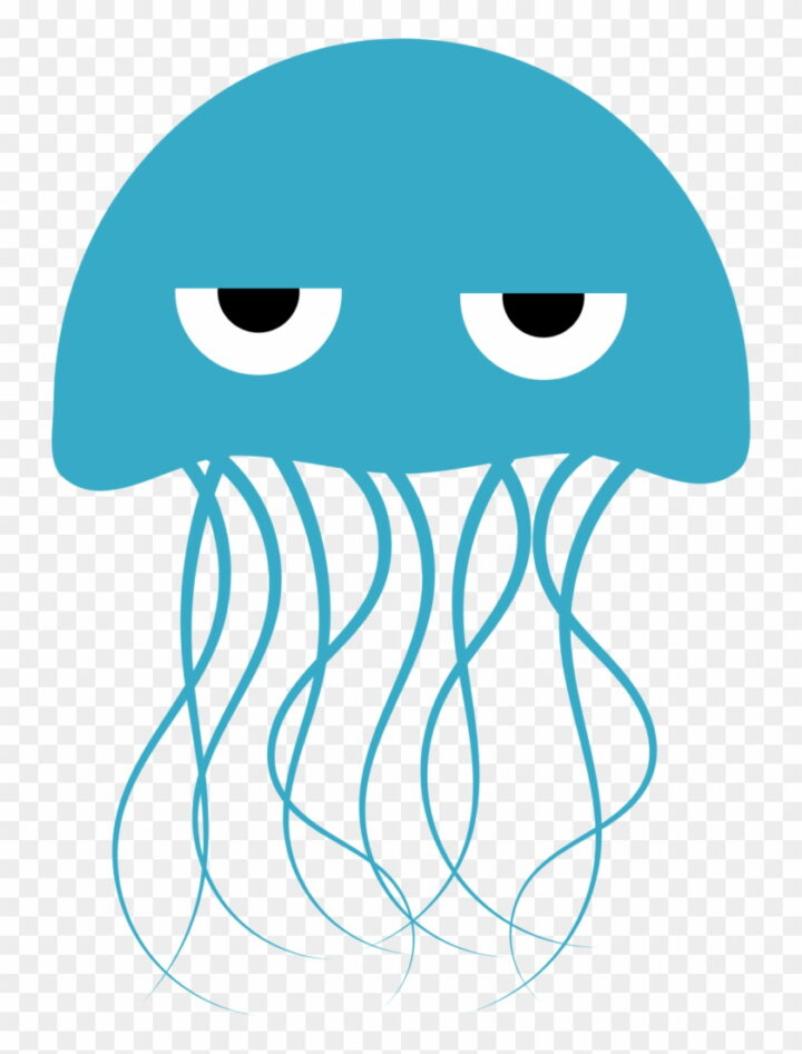 Jellyfish Clipart Bird Sea Creature Clip Art Image Provided.